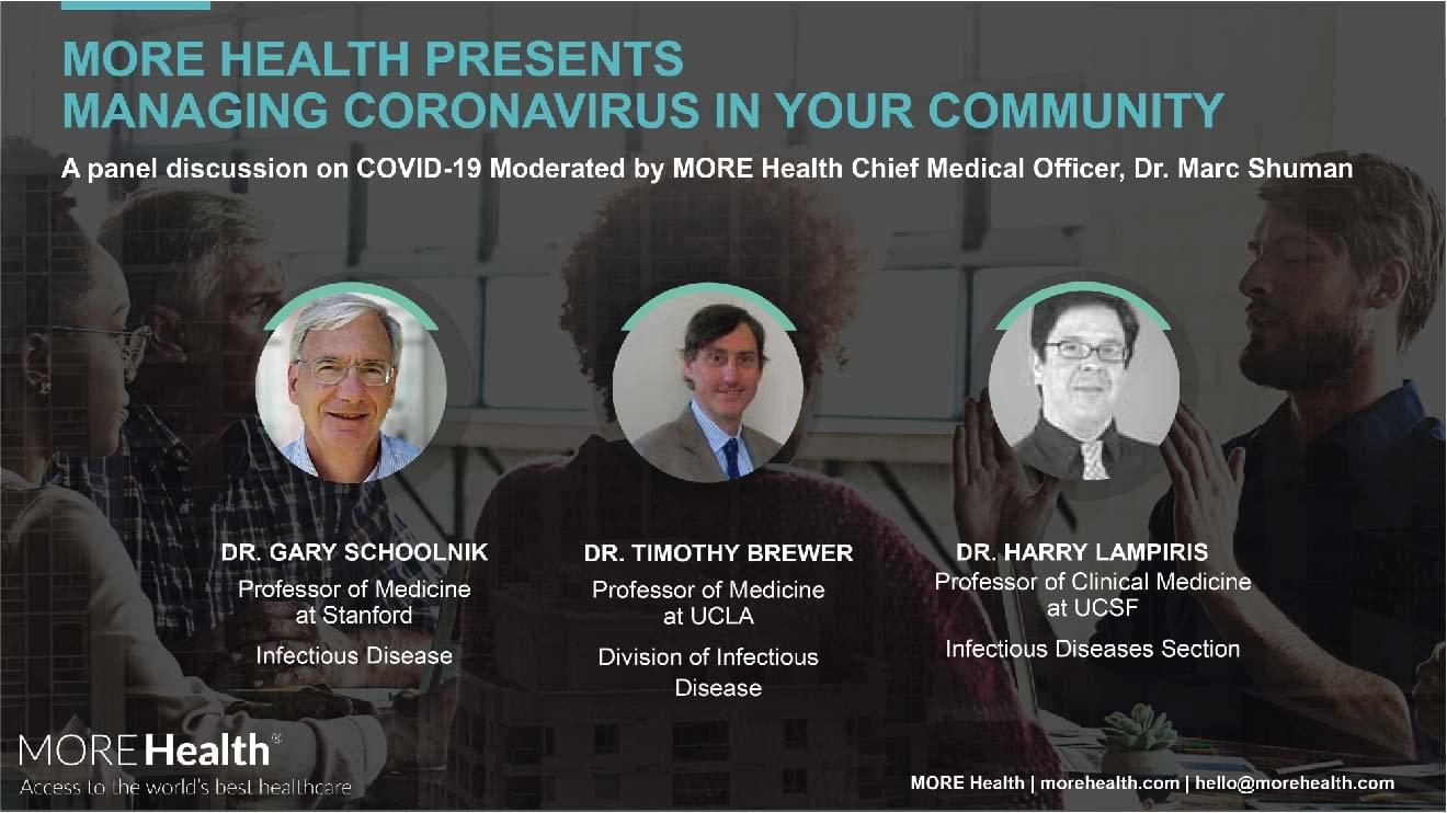 Managing Coronavirus in Your Community