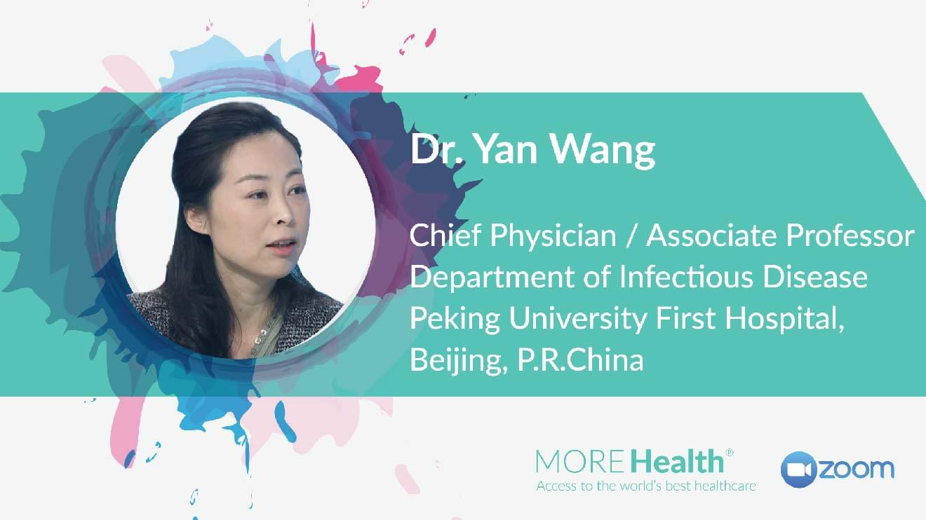 Webinar with Dr. Yan Wang: COVID-19 Outbreak and Control in China