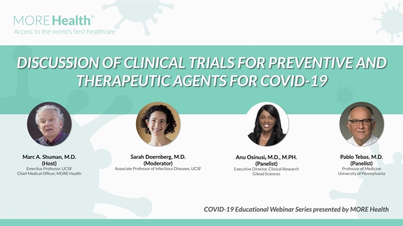 Discussion of Clinical Trials for Preventive and Therapeutic Agents for Covid-19